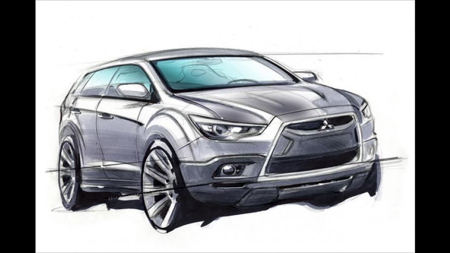 Mitsubishi: Neuer Kompakt-Crossover steht in Genf