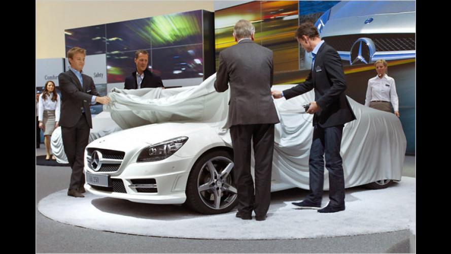Daimler feiert ausgibig 125 Jahre Automobil