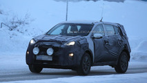 Next-gen Kia Sportage spied cold weather testing