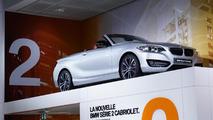 2015 BMW 2-Series Convertible live at 2014 Paris Motor Show