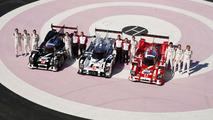2015 Porsche 919 Hybrid lineup for Le Mans