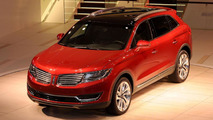 2016 Lincoln MKX live at NAIAS