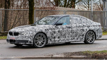 2017 BMW 5 Series spy photo