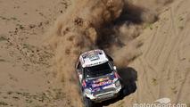 Dakar Cars, Stage 11: Al-Attiyah beats Loeb, Peterhansel still leads