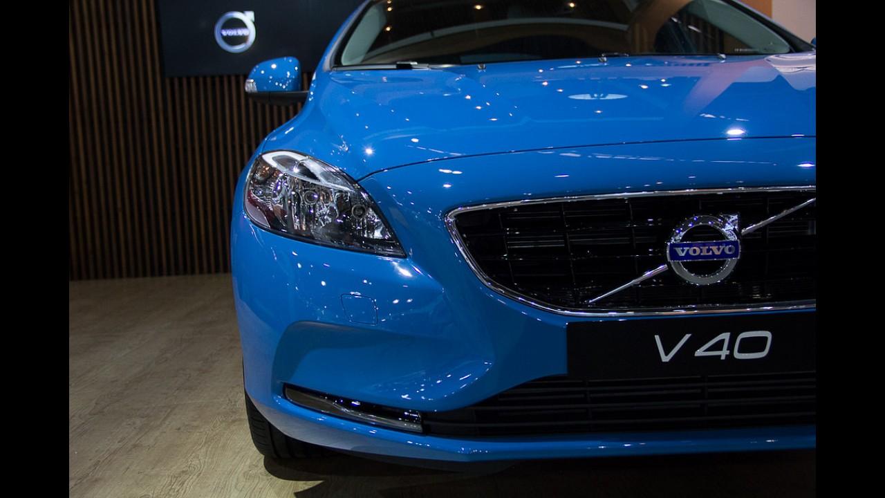 Salão SP: Volvo V40 de 180 cv baixa para R$ 112,9 mil; R-Design ganha motor Drive-E