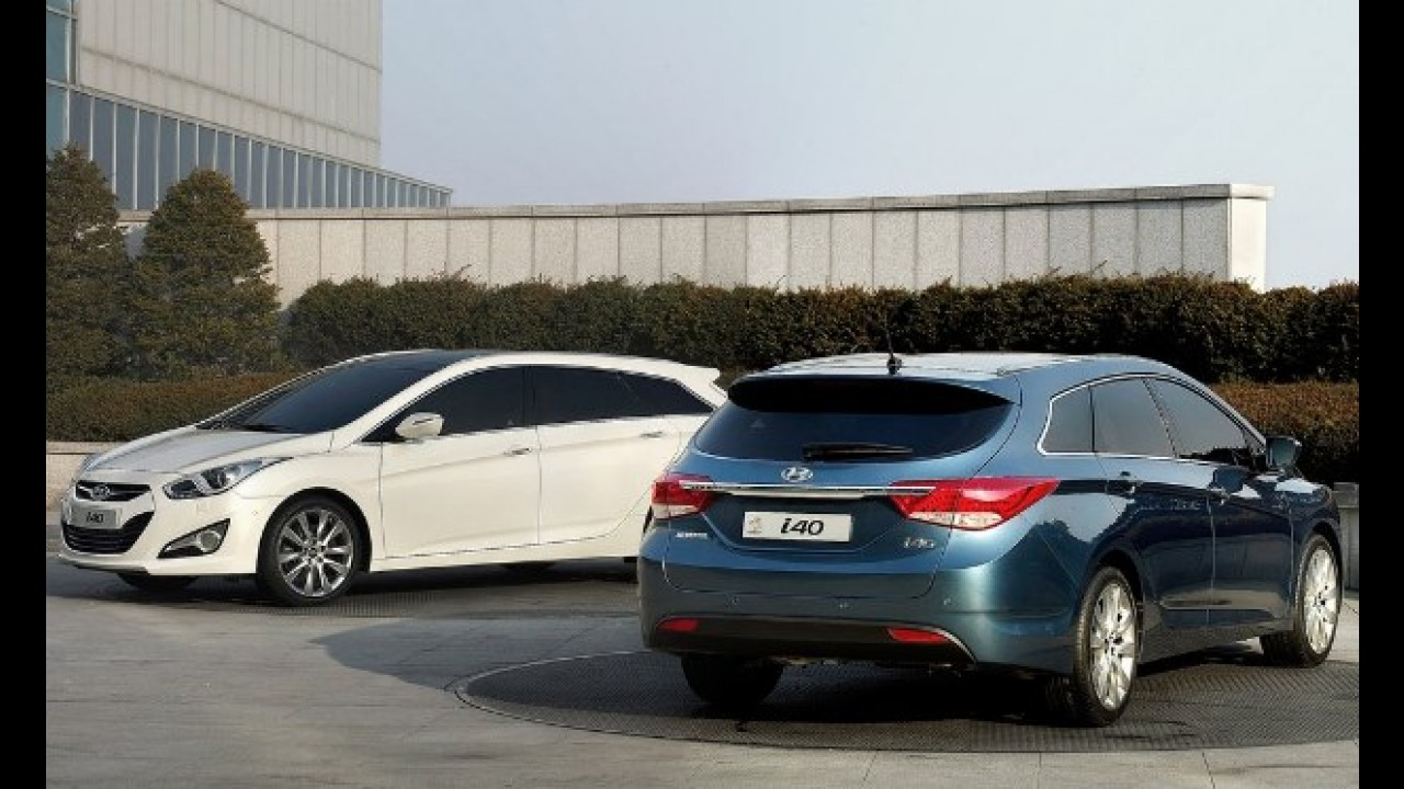 VÍDEOS: Novo Hyundai i40 em detalhes e no Salão de Genebra