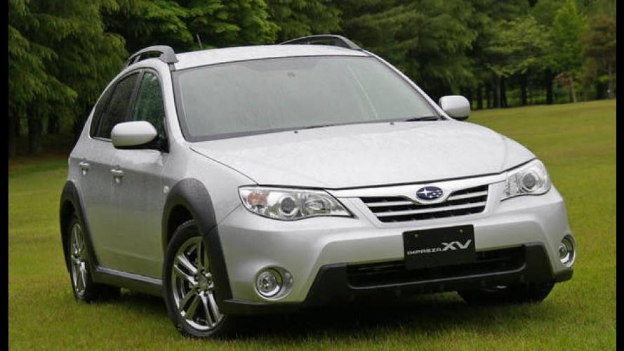 Subaru Impreza XV - Modelo com tração 4x4 e visual off-road será vendido no Brasil