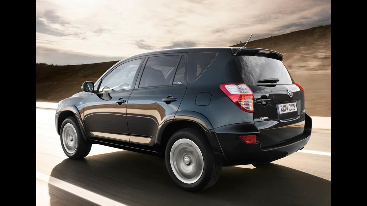 Toyota e Tesla planejam lançar RAV4 elétrico até 2012
