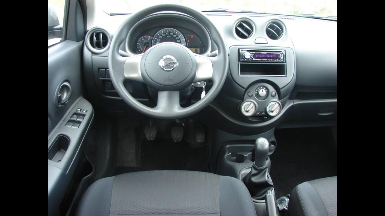 Avaliação - Nissan March 1.0 16V Flex 2011