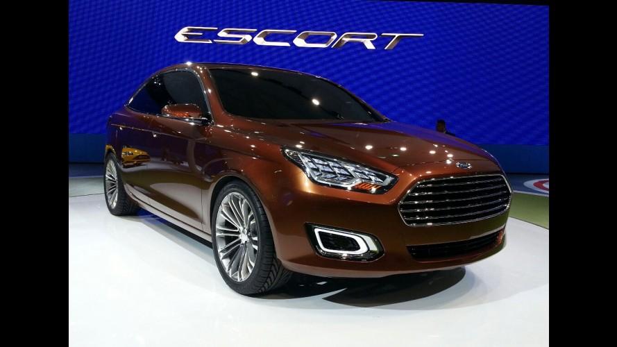 Surpresa: este é o novo Ford Escort!