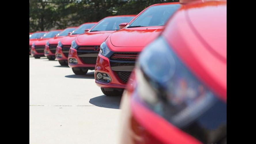 Encalhou! Vendas do Dodge Dart despencam nos Estados Unidos