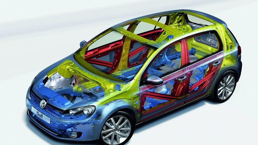 VW Golf VI Receives Five Stars in EuroNCAP Crash Tests