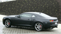 2010 Chevrolet Camaro prototype spy photo in Europe