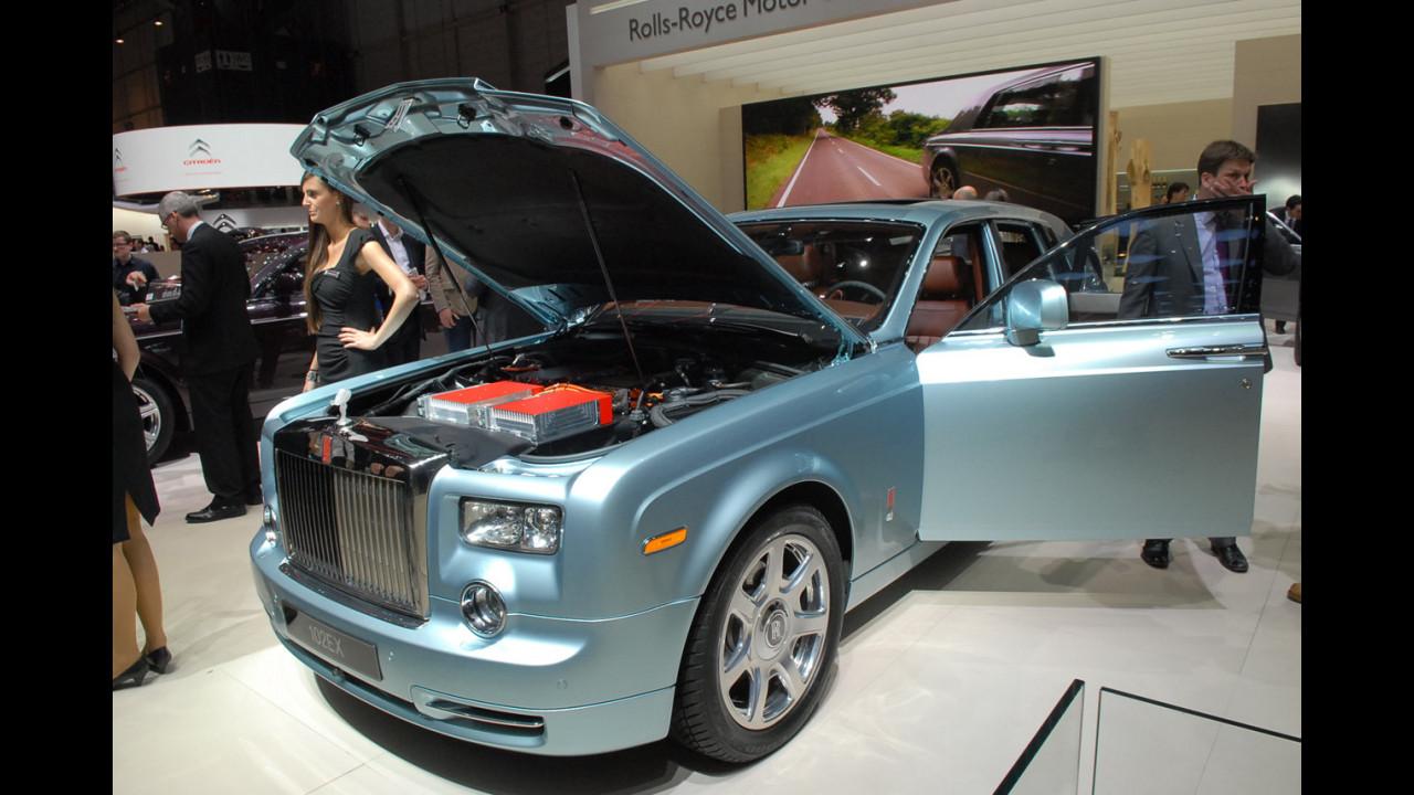 Rolls-Royce 102EX al Salone di Ginevra 2011