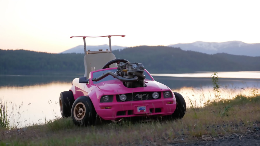 This Barbie Mustang Is No Toy, Features Real Honda Engine