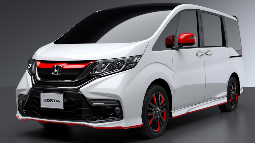 Honda S660 Modified >> Honda turns up the heat on its minivans for Tokyo Auto Salon