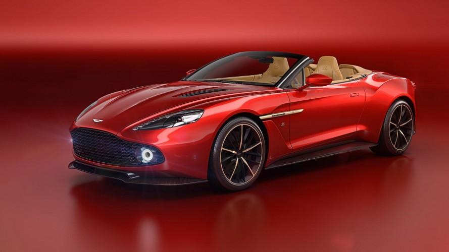 Limitado a 99 unidades, Aston Martin Vanquish Zagato Volante aparece em Pebble Beach