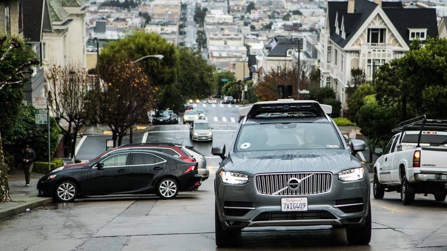 Faux départ pour Uber et Volvo à San Francisco