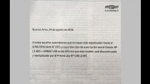 Chevrolet Classic se despede do mercado com anúncio nos jornais