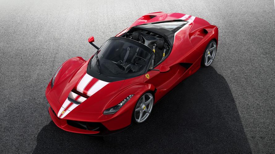 L'ultime Ferrari LaFerrari Aperta dévoilée pour la bonne cause