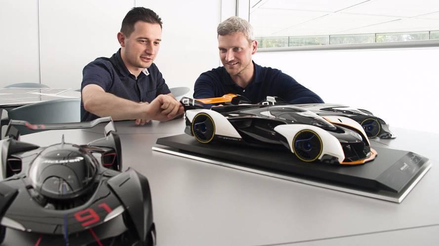 McLaren Ultimate Vision GT em escala 1:8