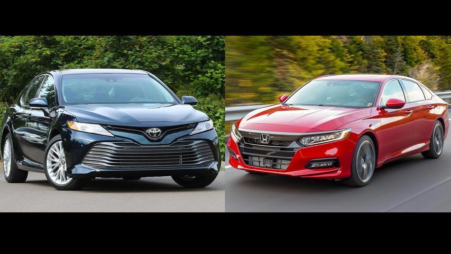 2018 Honda Accord Vs. 2018 Toyota Camry: The Family Sedan Battle
