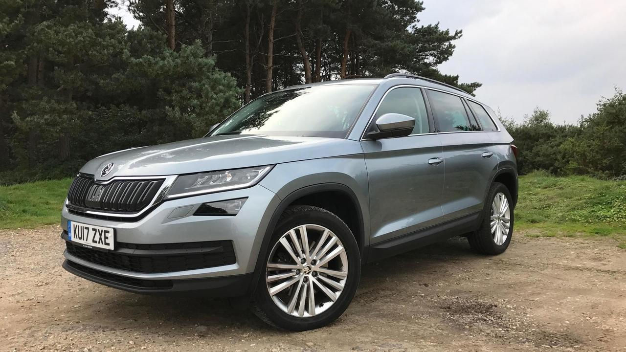 2017 skoda kodiaq long term photos. Black Bedroom Furniture Sets. Home Design Ideas