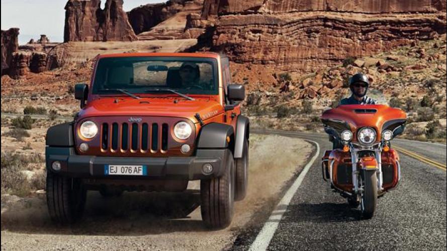 Jeep e Harley-Davidson, alleati per il 2014