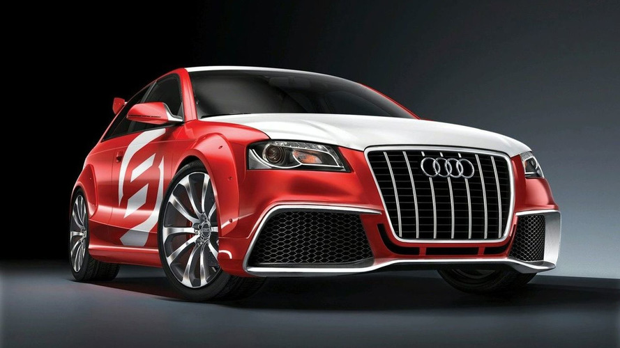 Audi A3 TDI Clubsport Quattro Concept Revealed