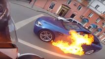 BMW M5 feu