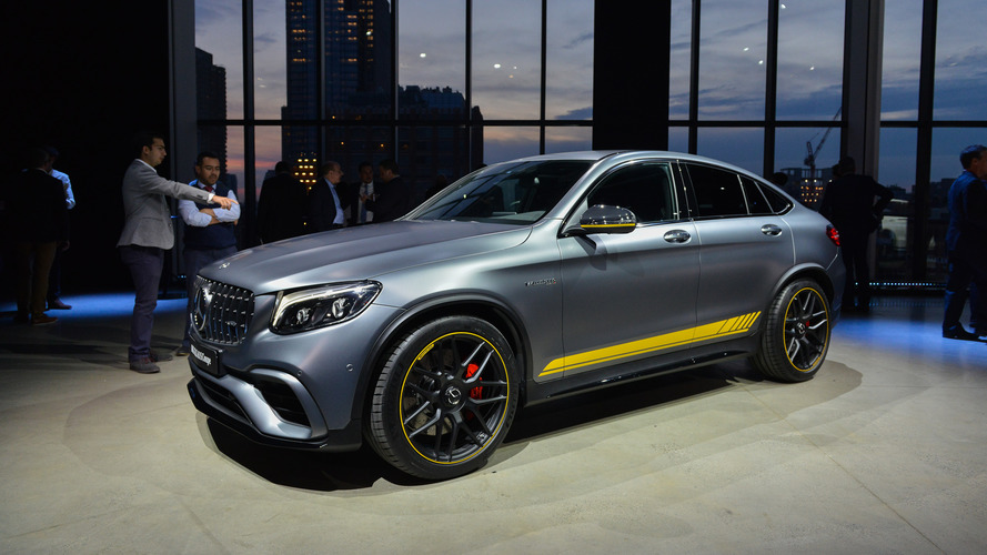 Mercedes-AMG GLC63 and GLC63 Coupe