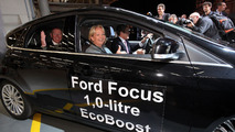 Ford Focus with 1.0-liter EcoBoost engine - 11.11.2011