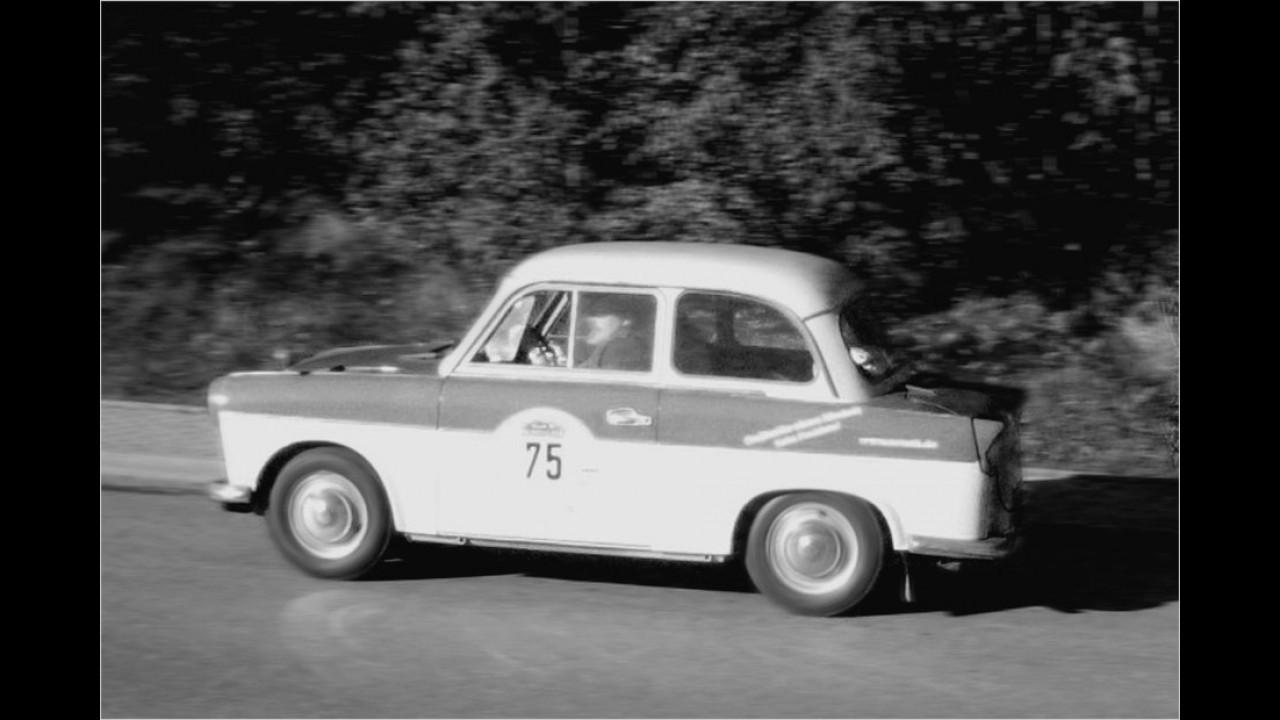 Trabant P 50, Werksteam VEB Sachsenring, 1960