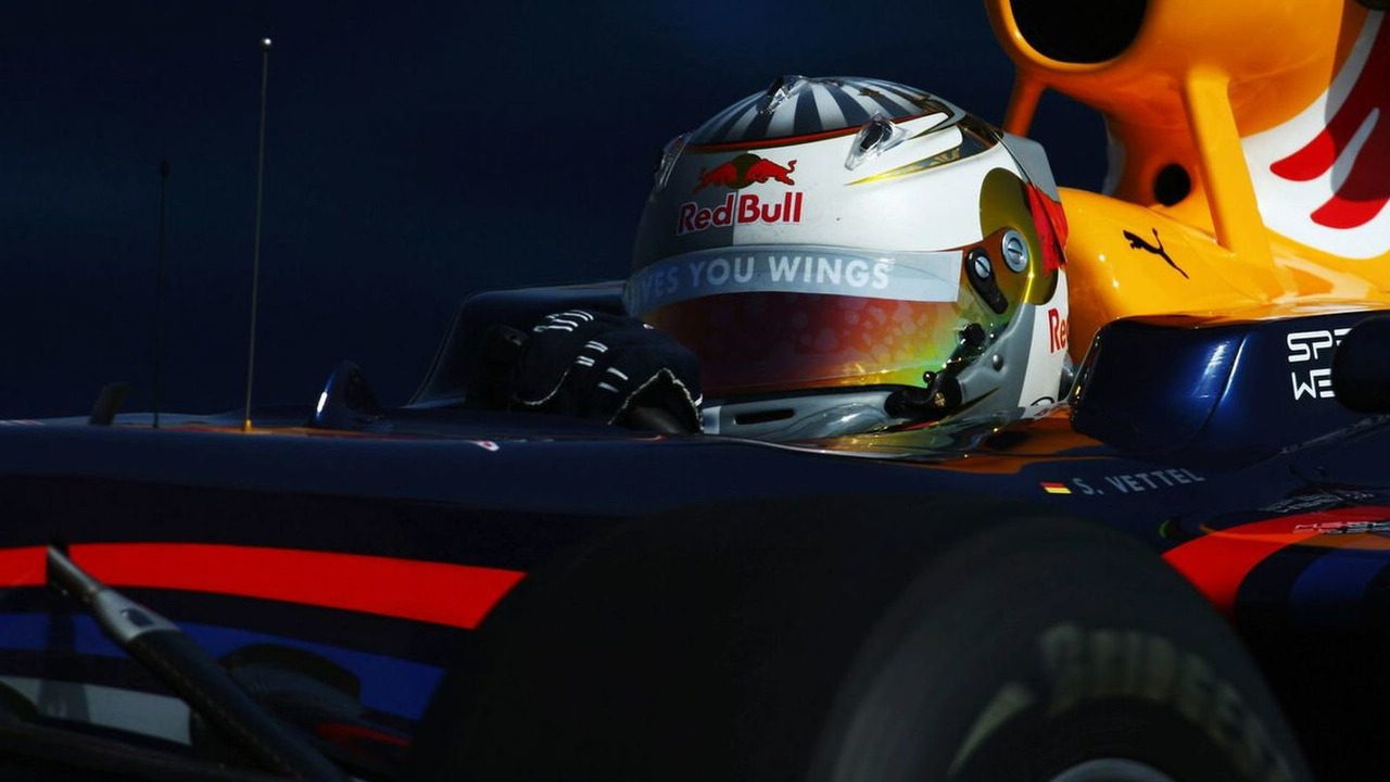 Sebastian Vettel, practice, European GP, Valencia Street Circuit 21.08.2009