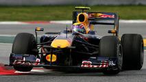 Mark Webber (AUS), Red Bull Racing - Formula 1 Testing, 25.02.2010 Barcelona, Spain,