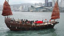 The 1000th Ferrari in Hong Kong on Junk Ship