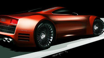 Audi R10 diesel-electric supercar to have more than 600 hp - report
