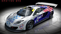 McLaren MP4-12C with FINA livery artist rendering - 920