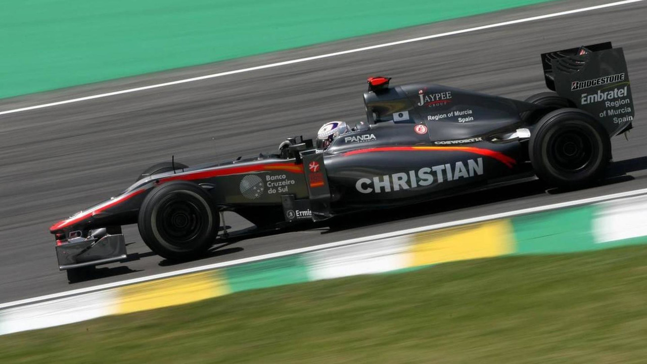Christian Klien (AUT), Hispania Racing F1 Team HRT - Formula 1 World Championship, Rd 18, Brazilian Grand Prix, 05.11.2010 Sao Paulo, Brazil