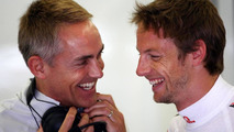 Martin Whitmarsh (GBR), McLaren, Chief Executive Officer, Jenson Button (GBR), McLaren Mercedes - Formula 1 World Championship, Rd 7, Turkish Grand Prix, 28.05.2010 Istanbul, Turkey