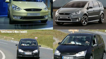 Comparing Ford Focus C-Max, Galaxy and SAV
