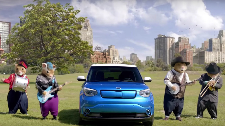 Kia's Hamsters return in Soul-ful dueling banjos spot