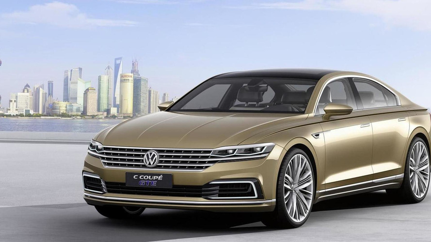 Volkswagen C Coupe GTE concept revealed at Auto Shanghai 2015
