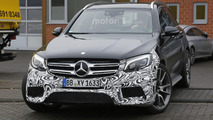 2017 Mercedes-AMG GLC 63 spy photo