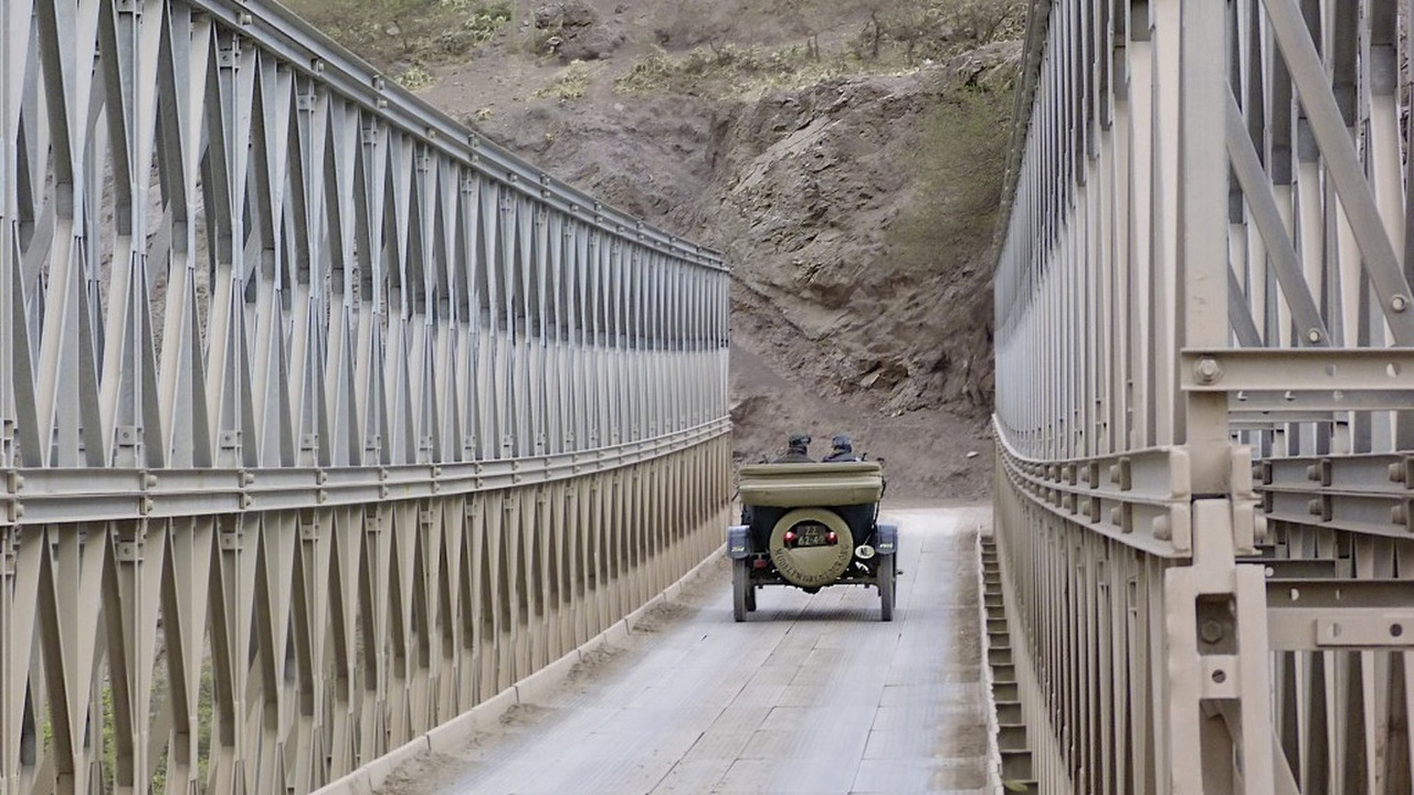 Ford Model T on world tour
