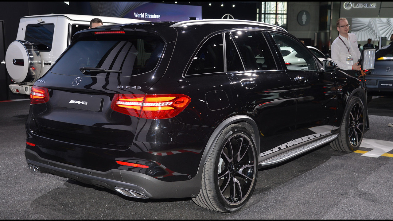 Mercedes Amg Glc43 Arrives In New York With 362 Hp