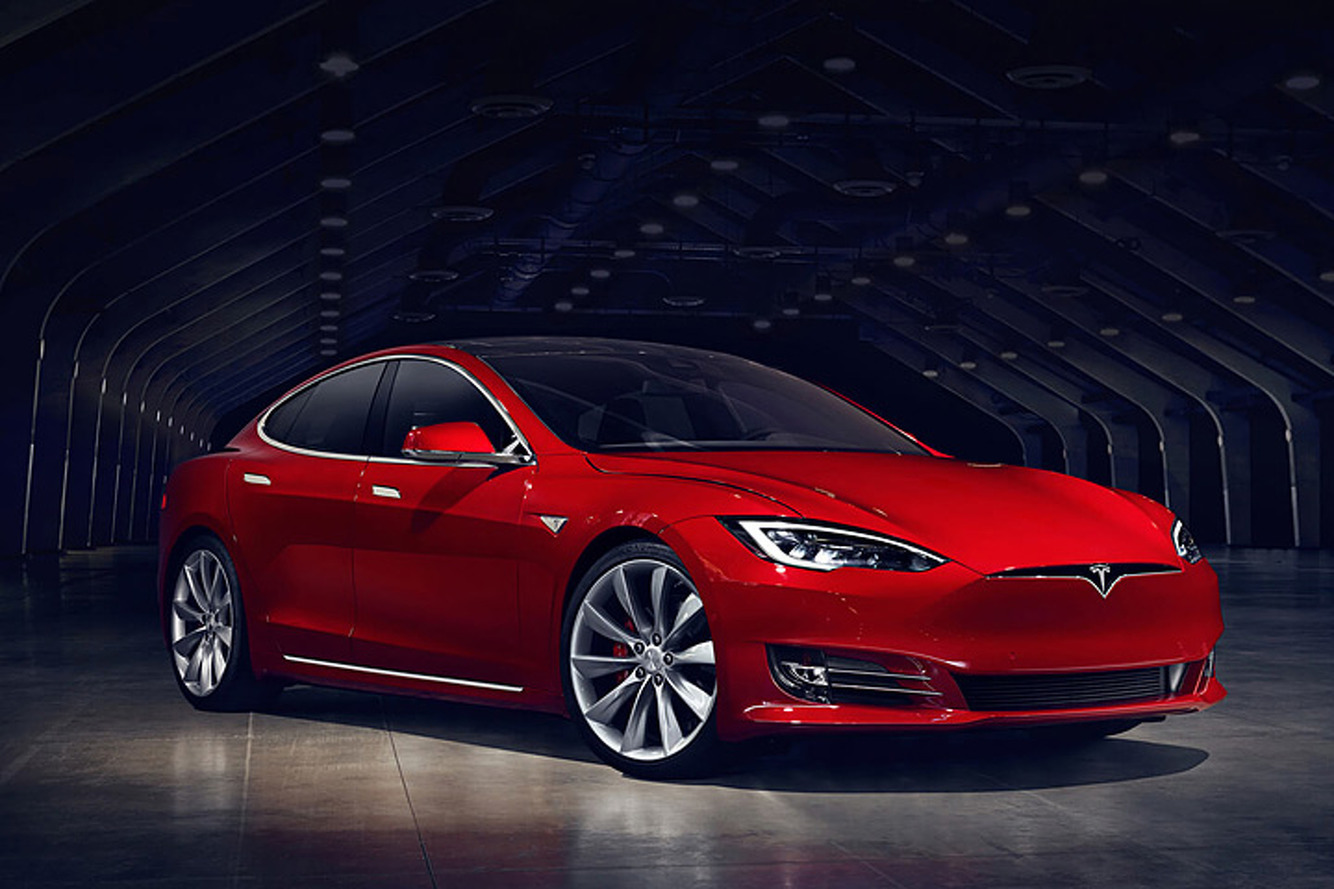 Nouveau record pour la Tesla Model S P100D
