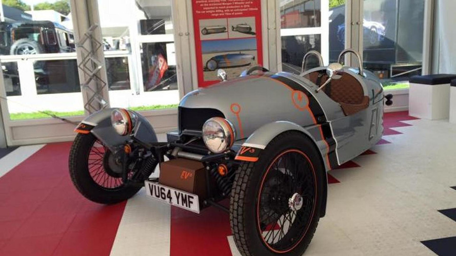 Morgan EV3 prototype debuts at Goodwood; goes on sale late 2016