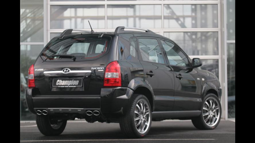 Hyundai: Tucson-Sondermodell, Grandeur und HED-1