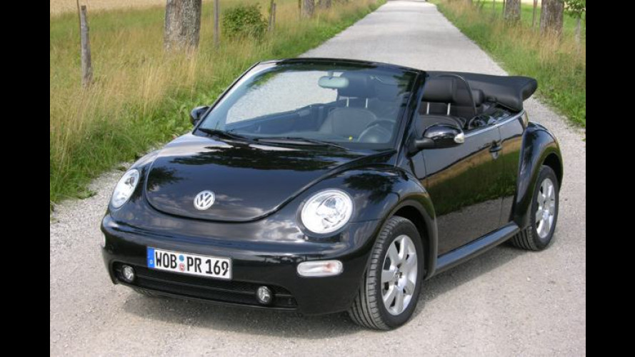Beetle Cabrio 1.9 TDI: Schick und schnurrig wie das Original